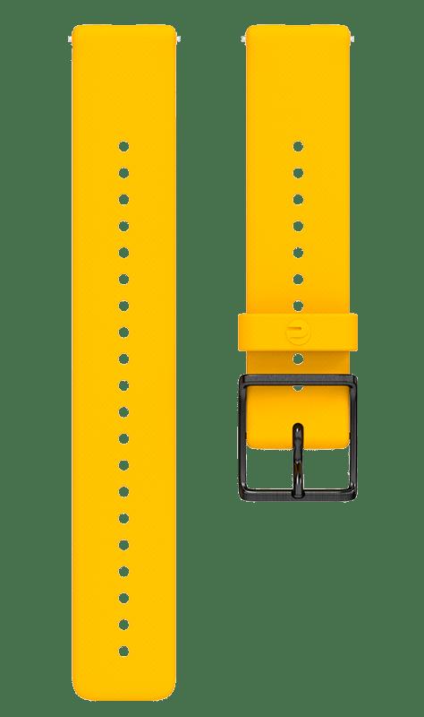 Ремешок Polar Ignite силиконовый желтый